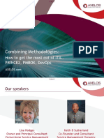 Combining-Methodologies-ITIL, PRINCE2, PMBOK and DevOps