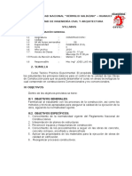 Syllabus de Construccion i