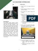 Hydraulic Solenoid Control Box -2