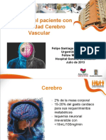 Abordaje Del Paciente Con Enfermedad Cerebro Vascular
