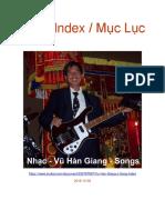 Vu Han Giang's Song Index