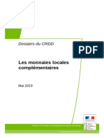 CRDD Dossier Monnaies Locales Avril 2015-2