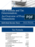 Personal Tax Accounting Lesson 3