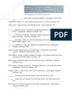 The Cooley Center Bibliography for the Dead Sea Scrolls