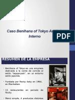 Caso Benihana Tokyo - Presentar