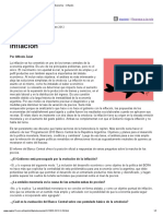 Página 12 Economía Inflación