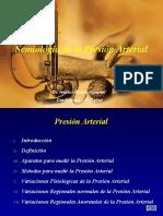 Semiologia de La Presion Arterial