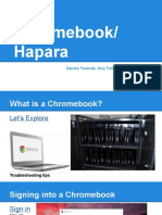professional development chromebook