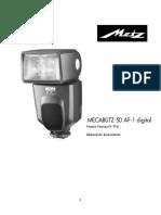 Metz Mecablitz 50 AF-1 Digital Pentax - Samsung - Romana.pdf