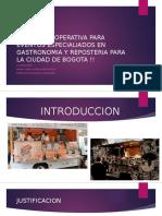 Propuesta Operativa Para Eventos Especialiados en Gastronomia y