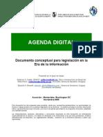 Agenda Digital BID Uriguay Paraguay 2005