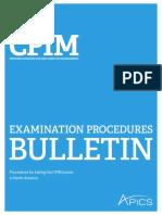 Cpim Bulletin for North America
