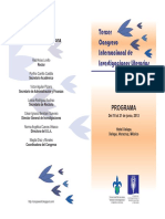 Congreso Investigaciones Literarias Programa 1