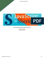 JavaScript for Sheridan Students