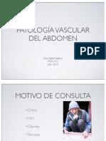 Patologia Vascular Abdominal I.velasco 2012