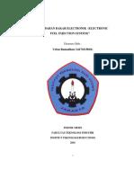 Makalah Sistem Bahan Bakar Elektronik Electronic Fuel Injection System)