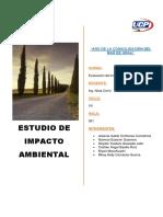 Contenido de Los Estudios de Impacto Ambiental Real