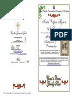 2016 -26-27 Dec - Vespers-st Stephen Archdeacon Protomartyr