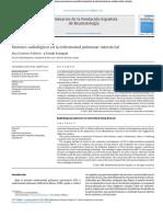 Patrones Radiologico de Neumonias Intersticiales