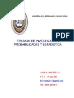 TRABAJO DE INVESTIGACION  distribuciòn normal