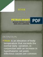 Fever Sepsis Syok