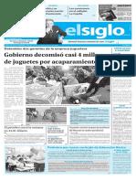 Edición Impresa Elsiglo 10-12-2016