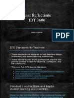 final reflections idt 3600