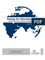 Testing for Discrimination
