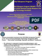 Law JNLWDP Directed Energy