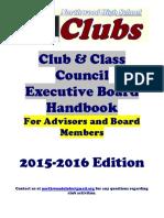 club handbook 2015-2016