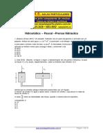 Hidrostatica Pascal Prensa Hidraulica