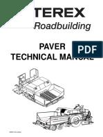 Asphalt Paver Technical Manual