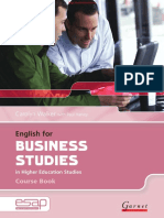 English for Business Studies in Higher Education Studies SB