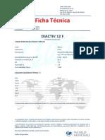Ficha Técnica Diactiv 12F