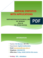 Statistics Chapter 1 XWX
