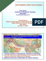 Himalyan Geodynamics
