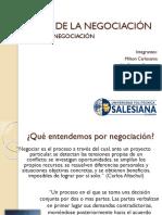 Bases de La Negociación