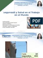Seguridad y Salud en El Trabajo en El Mundo