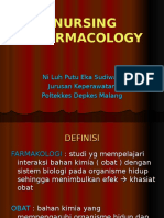 Farmakologi Keperawatan