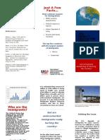 visual argument-brochure