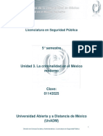 Unidad 3. La Criminalidad en El Mexico Moderno