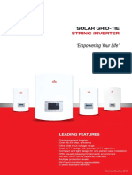 Polycab Solar Inverter Technical Brochure
