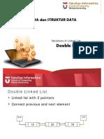 8. Linked List Variation - Double Linked List