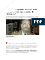 EU Arruinó Regalo de México a Fidel Castro