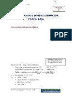 PEMBEBANAN-DAN-DIMENSI-STRUKTUR-PROFIL-B.docx