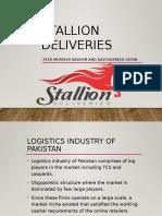 Stallion Deliveries