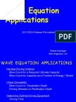 2011 Pdca Wave Equation Applications