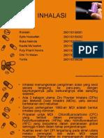 Kelas a 2015_Kelompok 4_Preformulasi_ Inhalation Dosage Forms