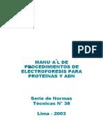 Manual Electroforesis 38