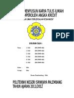 Syg Oput Punya - Tulisan Ilmiah Populer.media Massa